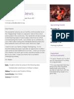 november newsletter 2018-19