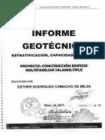 Estudio de Suelos Edificio Ciudad Oruro