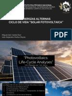 Ciclo de Vida Solar FV