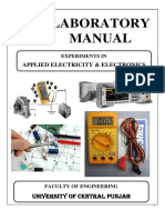 AEE Applied Electricity and Electronics Lab Manual (Revised 2018)