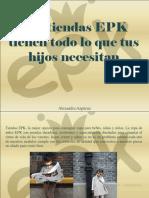 Alexandra Azpúrua - Las Tiendas EPK Tienen Todo Lo Que Tus Hijos Necesitan
