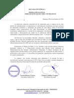 FENTRAMUCH Adhiere Al Paro Nacional