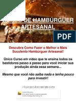 Curso de Hamburguer Artesanal Online