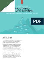 Facilitating Creative Thinking