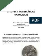 U3 Matemáticas Financieras