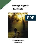 Parenting Rights Institute Prospectus Version 5