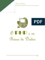 Php e Bases de Dados