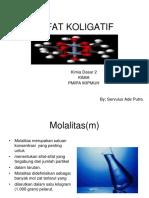 SIFAT KOLIGATIF-- SERVULUS ADE PUTRA.ppt