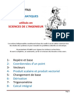 Outils Mathematiques SII