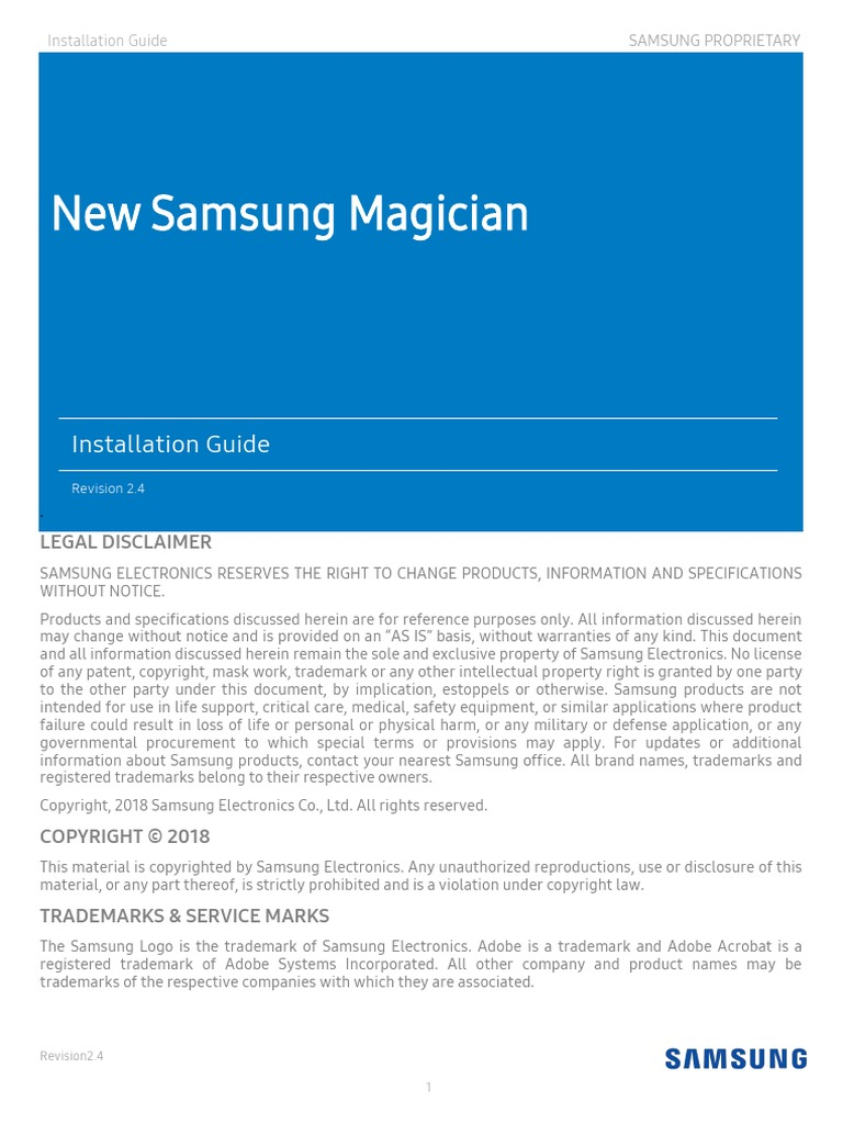 Samsung_Magician_5_2_1_Installation_Guide_v2 4 pdf   Solid State