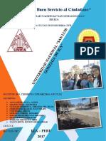 Trabajo de Mantenimiento y Rehabilitación de Carreteras, Obra en la Ciudad de Ica