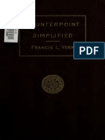1907 - Francis L. York - Counterpoint Simplified (1)