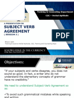 c2c Va Be Sem5 Session 3 Subject Verb Agreement 932