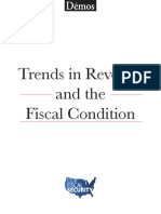 Trends in Revenue and the Fiscal Condition