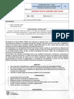 Formato Informe Comunidad BORDONES Od.J.S.