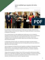 13-10-2018 - Sonora Vive Una Nueva Realidad Que Requiere de Todos Unidos Gobernadora - Las5