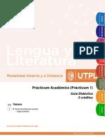 practicum 1 utpl lengua y literatura