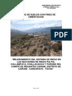 Informe Tecnico Cairani - Reservorios