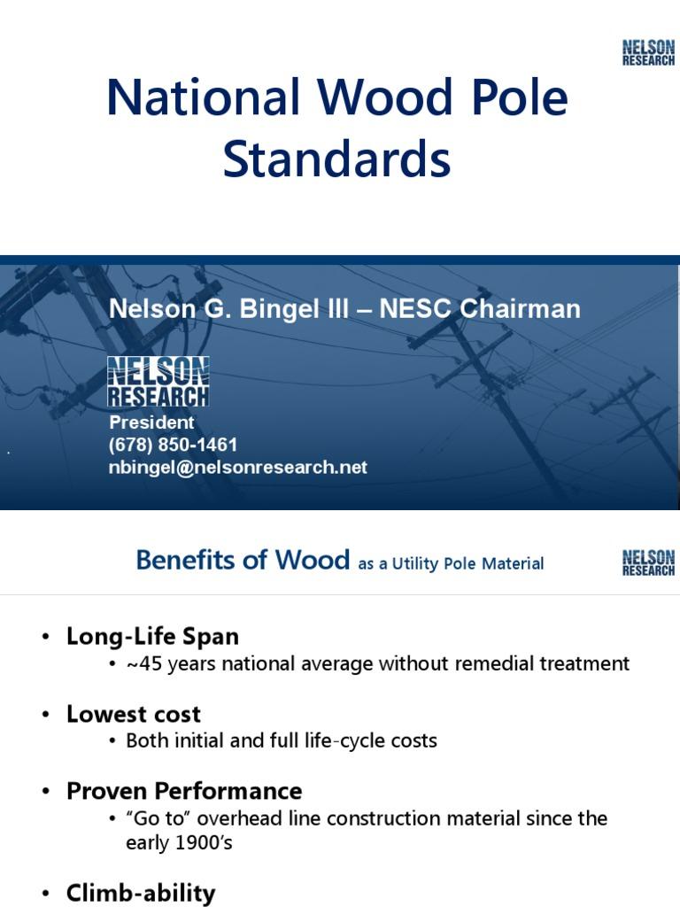 National Wood Pole Standards
