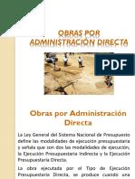 Obras por Administración Directa.ppt