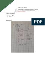 Actividad Virtual - Calculo-sem11