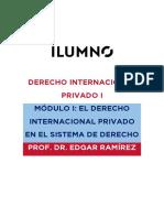 DERECHO INTERNACIONAL PRIVADO I MÓDULO I