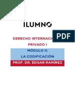 DERECHO INTERNACIONAL PRIVADO I MÓDULO II