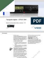 Manual Usuario Rev1.3 Vdo DTCO 1381 Rev. 1.3