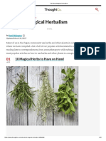 All About Magical Herbalism