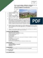 Fichas de Inventariacion Turistica de Torata