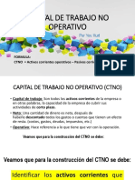Capital de Trabajo No Operativo