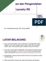 PPI Dalam Pelayanan Laundry Rumah Sakit