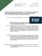 ZARAGOCÍN, Sofía (2014). Políticas de Inclusión Liberal y El Paradigma Del Buen Vivir, Feminismo Hegemónico y Multiculturalismo; Caso FFAA Ecuador y Bolivia (Art)
