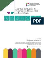 Abordaje Conductual de Persnas con Discapacidad en Odontología