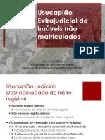 Usucapião de Imóveis não Matriculados OAB 14-07-2016 - José Celso Vilela.pdf.pdf