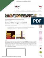 Contour Offset Dengan CorelDRAW _ Belajar CorelDRAW