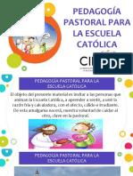 118. PEDAGOGÍA PASTORAL PARA LA ESCUELA CATÓLICA - OSCAR PEREZ.ppsx