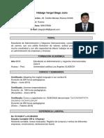 CV Administración -DiegoHidalgo