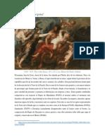 El Rapto de Proserpina de Rubens (1636-1637)