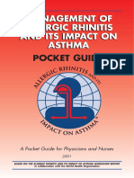 Management Allergic Rhinits ITS Impact Asthma 2001