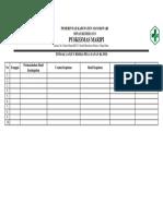 Bukti Identifikasi Resiko Layanan Klinis ( Ep 8)
