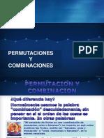 ''Permutaciones y Combinacion.ppt