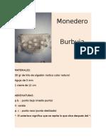 Patrón Monedero Burbuja Por Mi MediaVareta