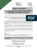 Appel Journe_e 8 Juin Les Revues en Sciences Sociales Mast_er ETT-1