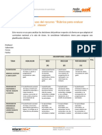 C6AC1R5_orientaciones Rubrica para evaluar planificaciones de clases.pdf