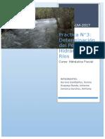 Informe Nº3 Hidraulica Fluvial
