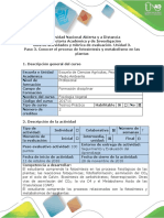 Guía de Actividades y Rúbrica de Evaluación - Pashho 3 - Conocer El Proceso de Fotosíntesis y Metabolismo en Las Plantas (1)