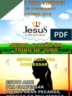 PASSO-A-PASSO_CIAS_Evangelizado CIA Outubro_Jesus o Leao Da Tribo de Juda