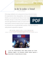 La «Ruta de La Seda» e Israel, Por Thierry Meyssan