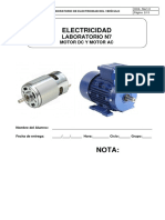 Lab 7 - Motores DC y AC (Avance)